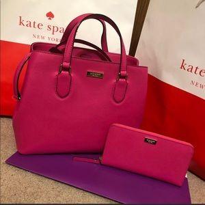 Kate Spade Evangelie purse and Neda Wallet!